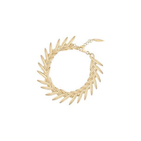 W.KRUK, kolekcja Przyjaźń, bransoleta, srebro złocone, cena 499 zł