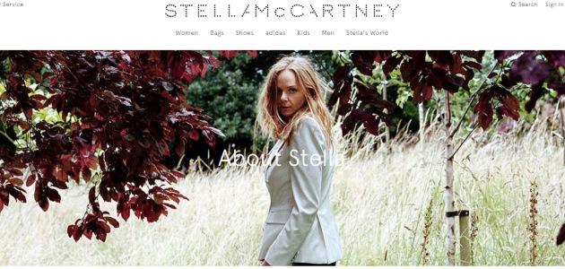 źródło: www.stellamccartney.com/experience/en/about-stella/