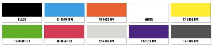 karta kolorów